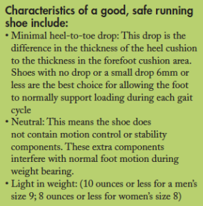 Acsm Running Shoe Recommendations